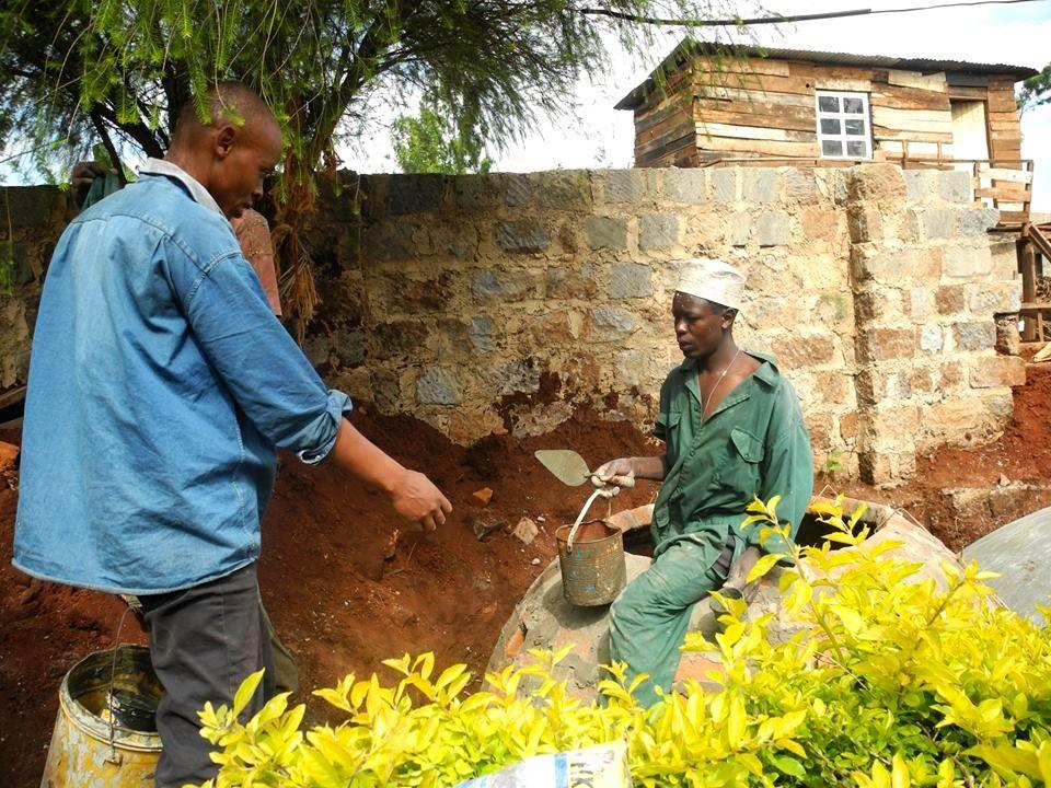 Maurer können für die Errichtung von Biogasanlagen von dem Budget geschult werden.