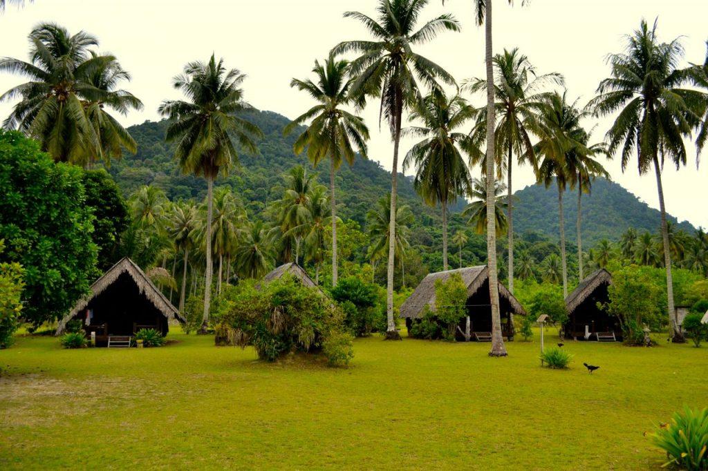 Die Anlage des Mirage Resort.