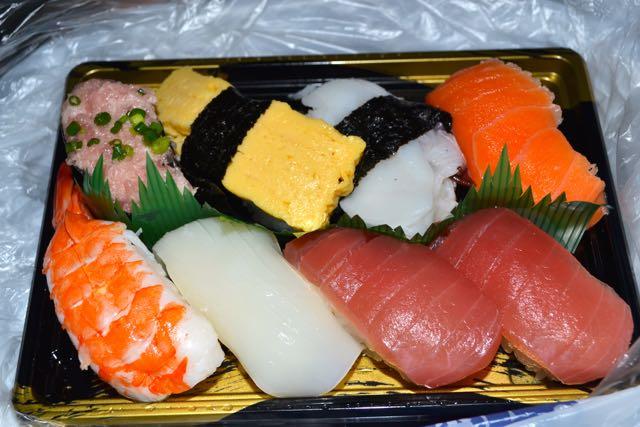 Reisetipp Japan Sushi im Supermarkt
