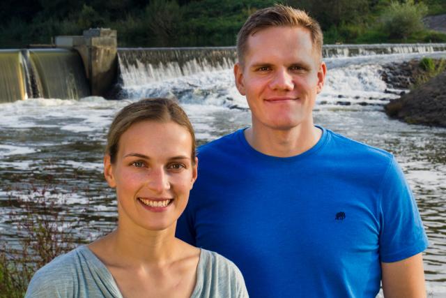 Patrick und Jasmin, die Autoren von Esst Echtes Essen und Healthy Habits.