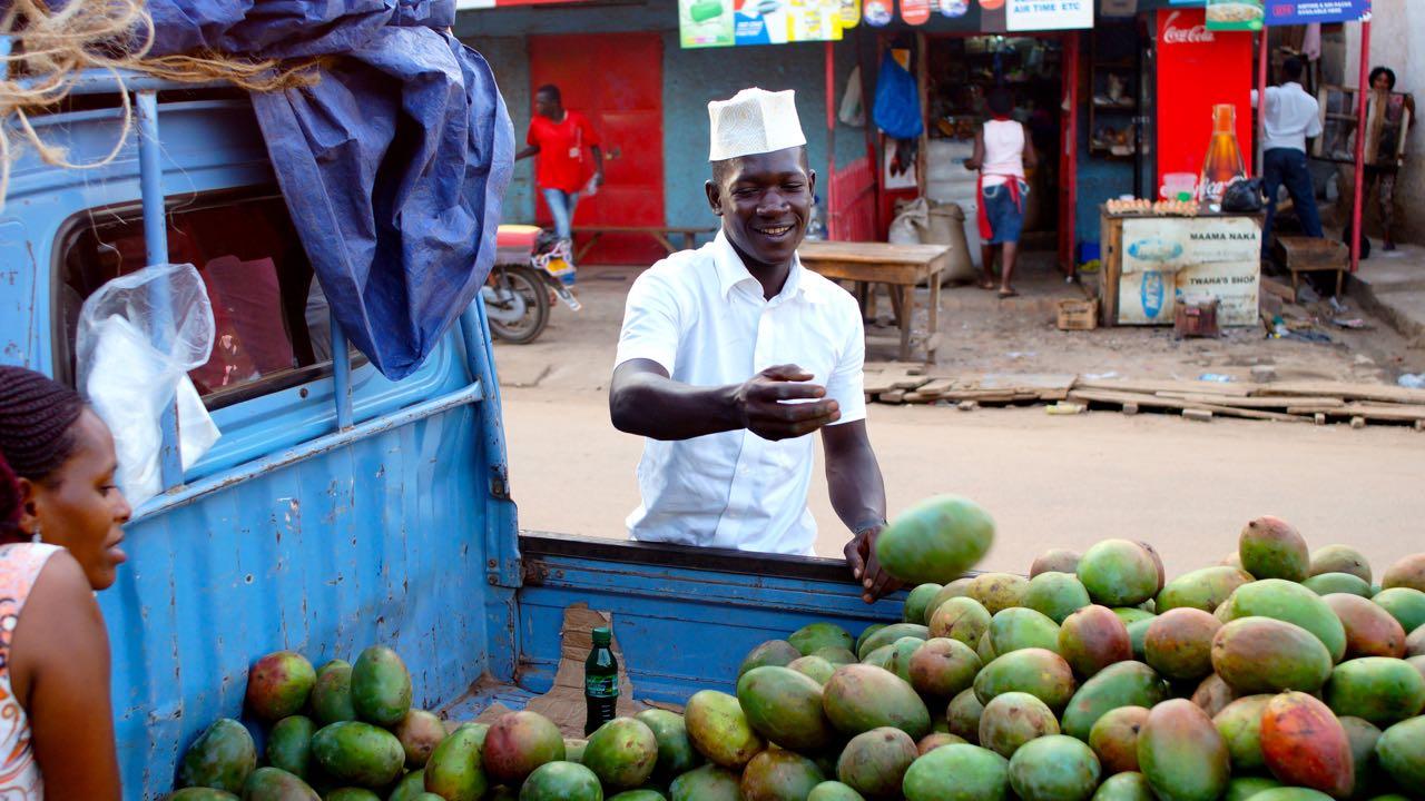 Mango Verkäufer Ugandax