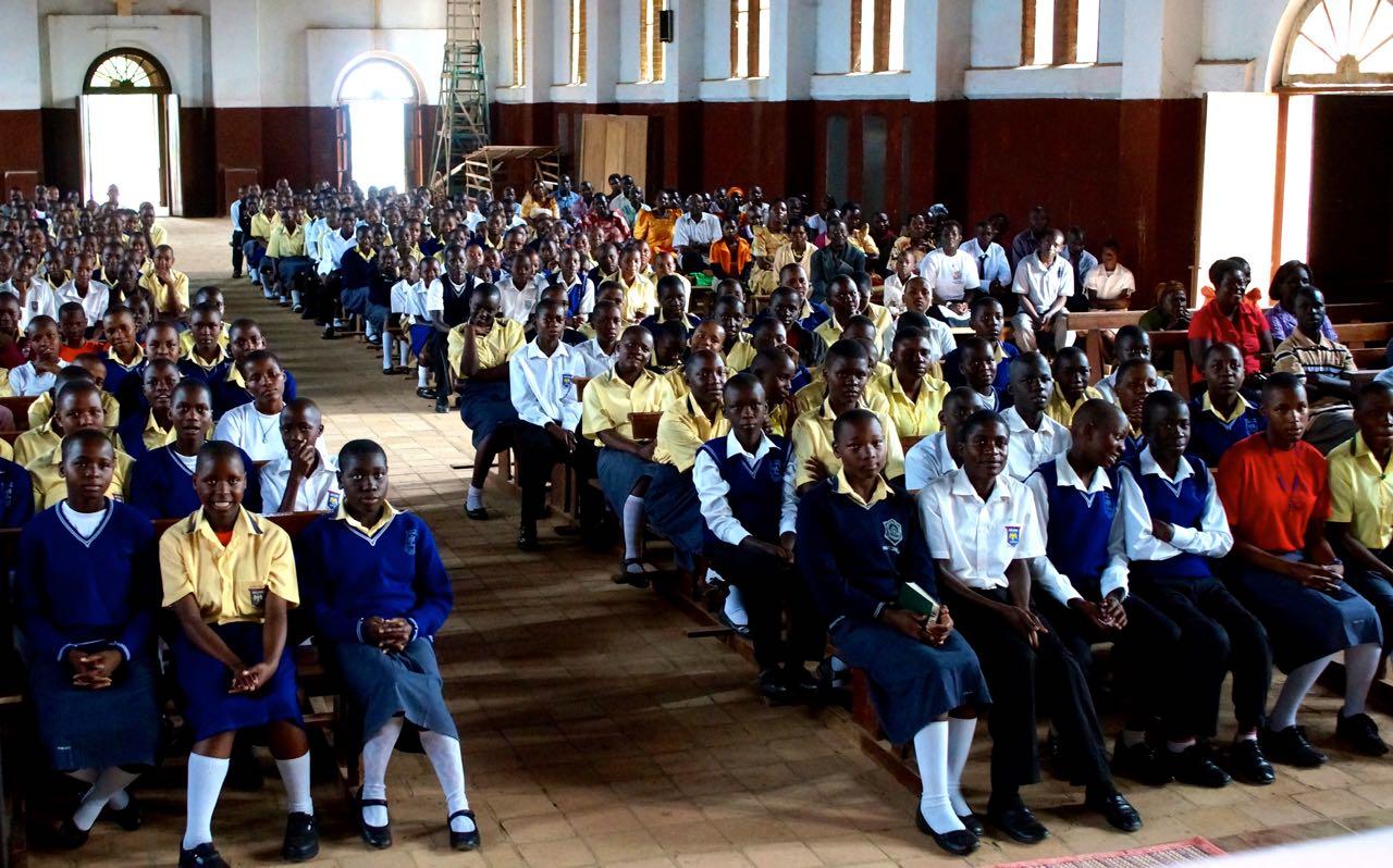 Messe in Nandere, Uganda