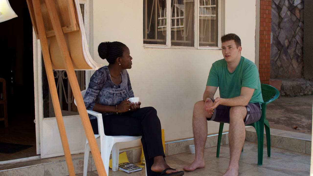Coaching on arrival beim Volunteering in Uganda