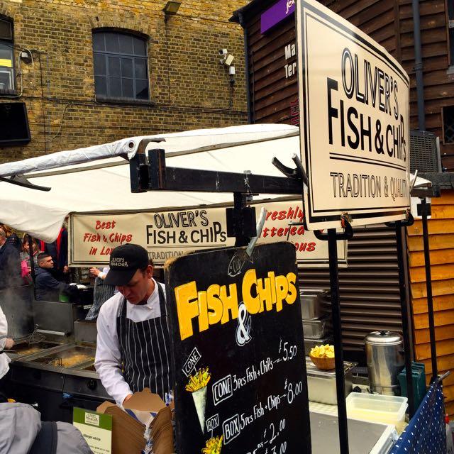 Die besten Fish and Chips in London.