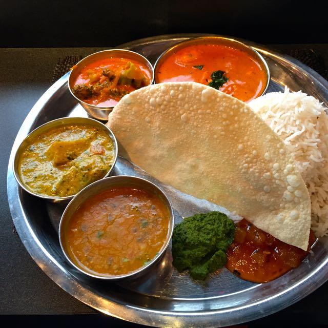 Indisches Essen im Masala Zone