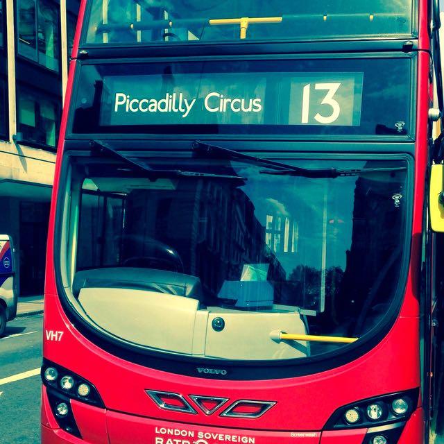 Mit dem Bus durch London