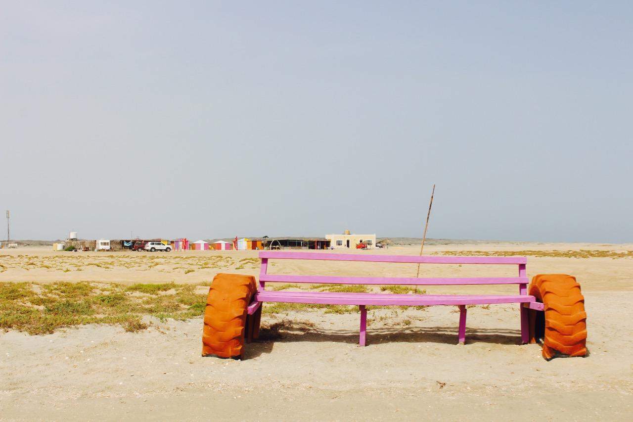 Beach und Surfcamp auf Masirah Island iim Oman