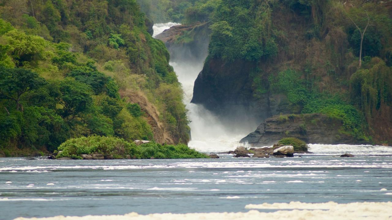 Murchison-Falls-Wasserfall-Nil