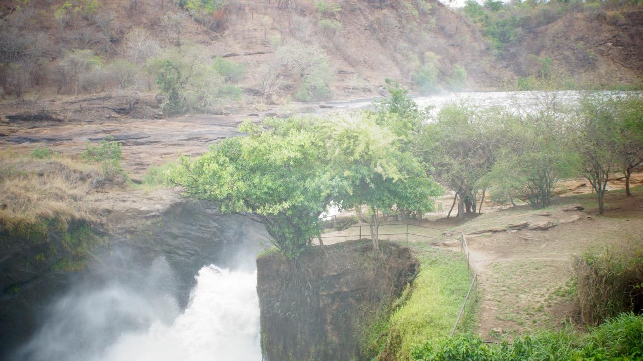 Murchison-Falls-Wasserfall-oben