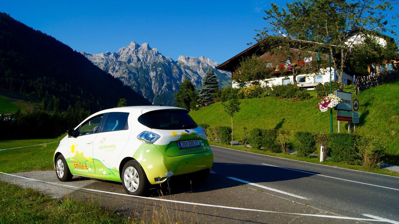 Elektroauto-Werfenweng