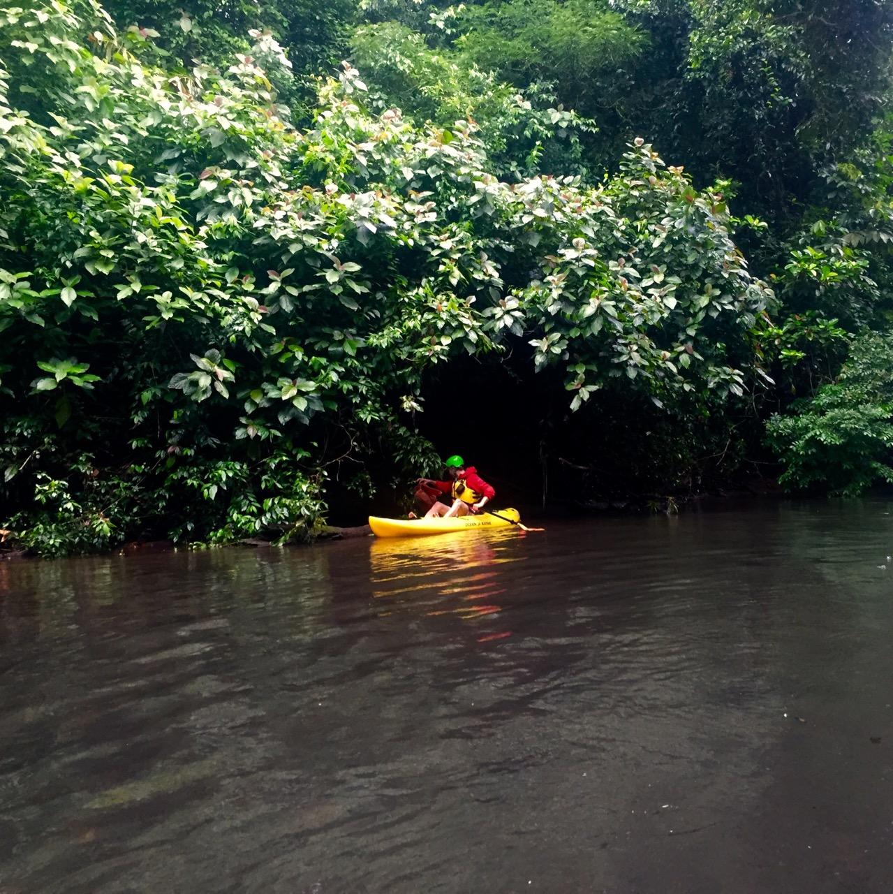 Kanu Rio Cuarto Müll sammen