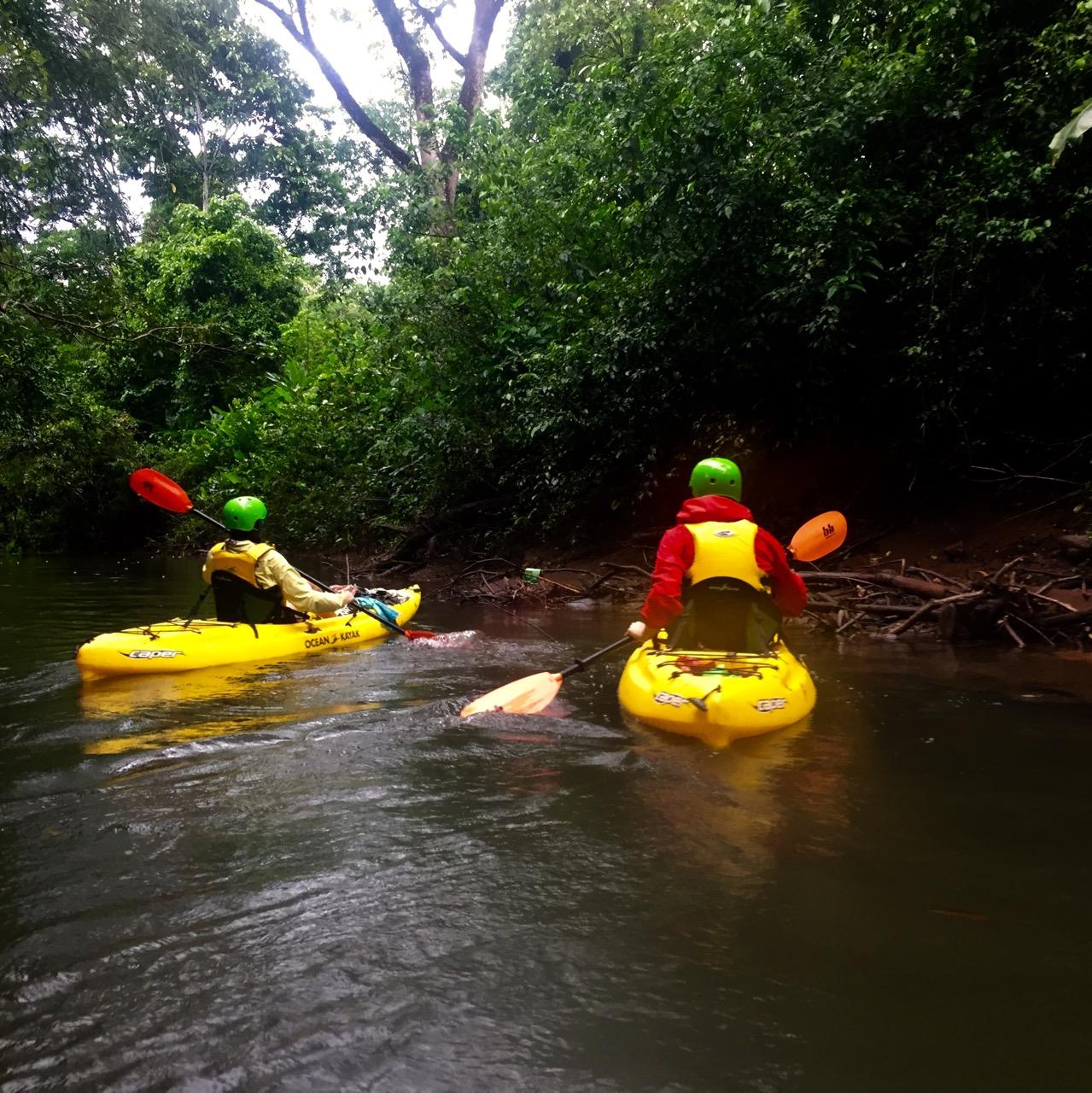 Kanu Rio Cuarto nebeneinander