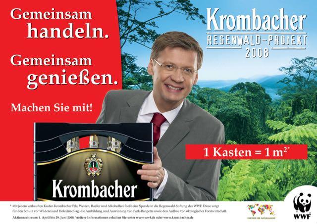 Das CSR Projekt für den Regenwald von Krombacher.