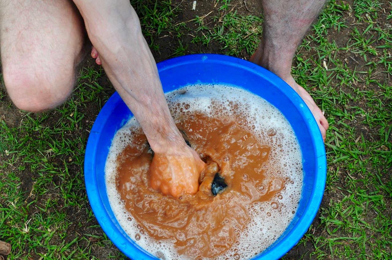 Wäsche-waschen-Afrika