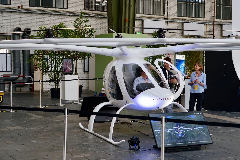 Volocopter Greentech Festival