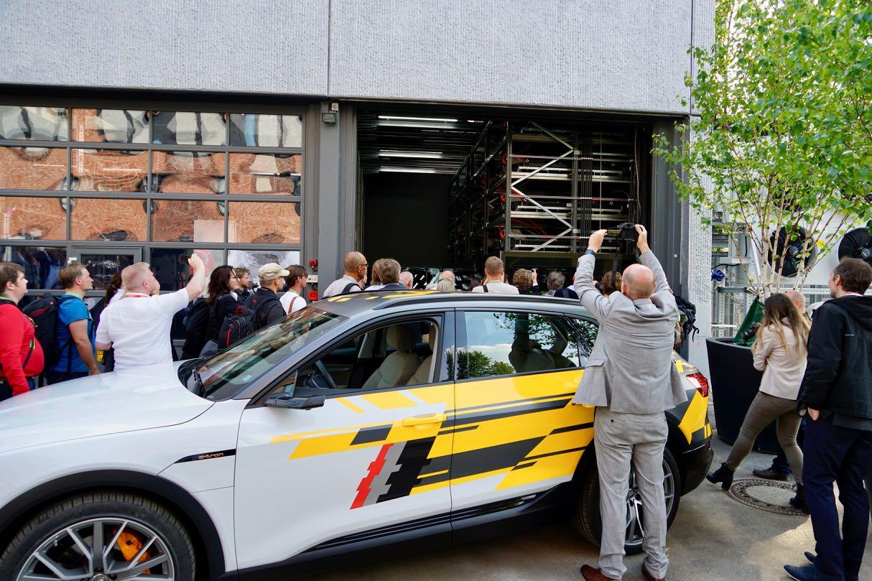 e-tron Speicher Audi