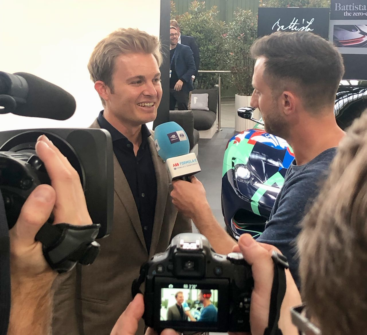 Nico Rosberg auf Greentech Festival