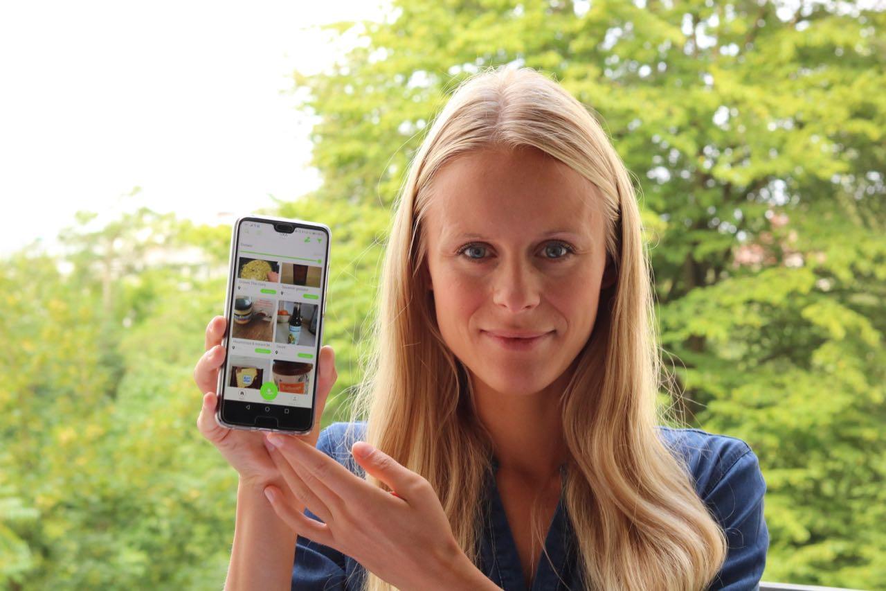 Gründerung der Foodsharing App UXA Lisa-Zvonetskaya