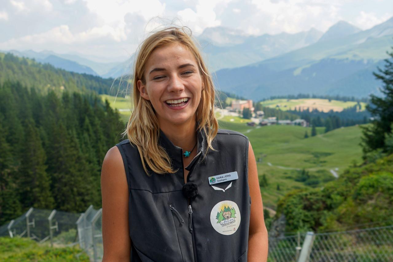 Tierpflegerin Daria Jörg