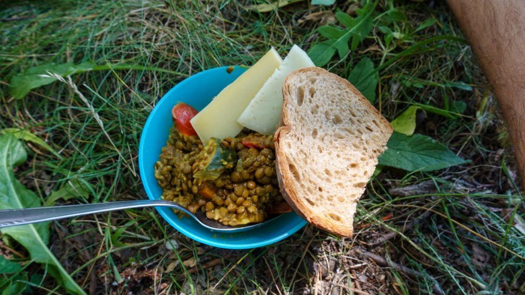 Mittagessen Bergwaldprojekt
