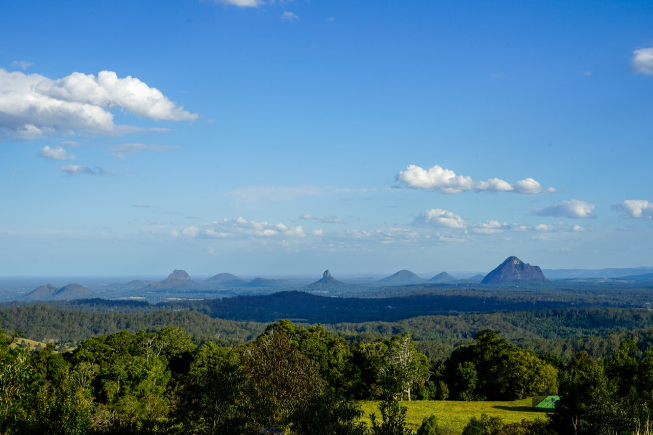 Glass House Mountains in Queensland Australien