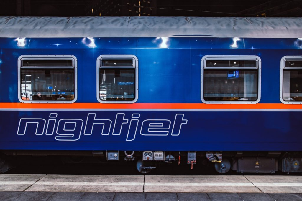 Nachtzug Europa Nightjet
