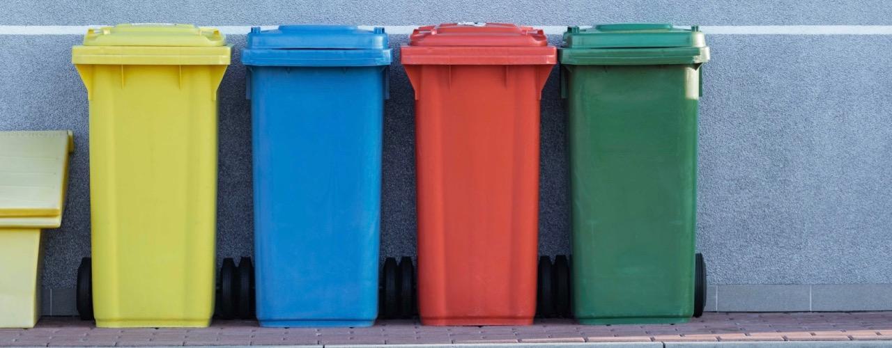 Müll trennen für für Nachhaltigkeit im Alltag