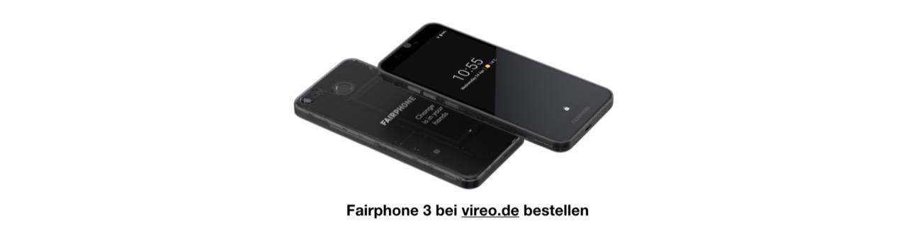 Fairphone 3 bei vireo.de bestellen