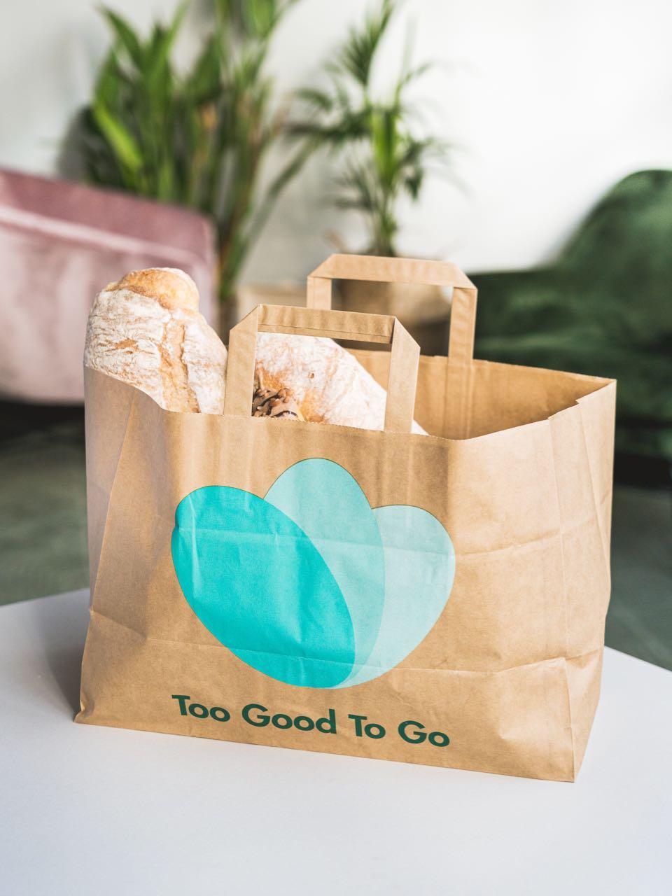 Too Good To Go Wundertüte von einer Bäckerei