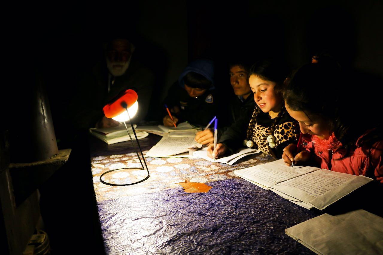 Solarenergie schenkt Licht