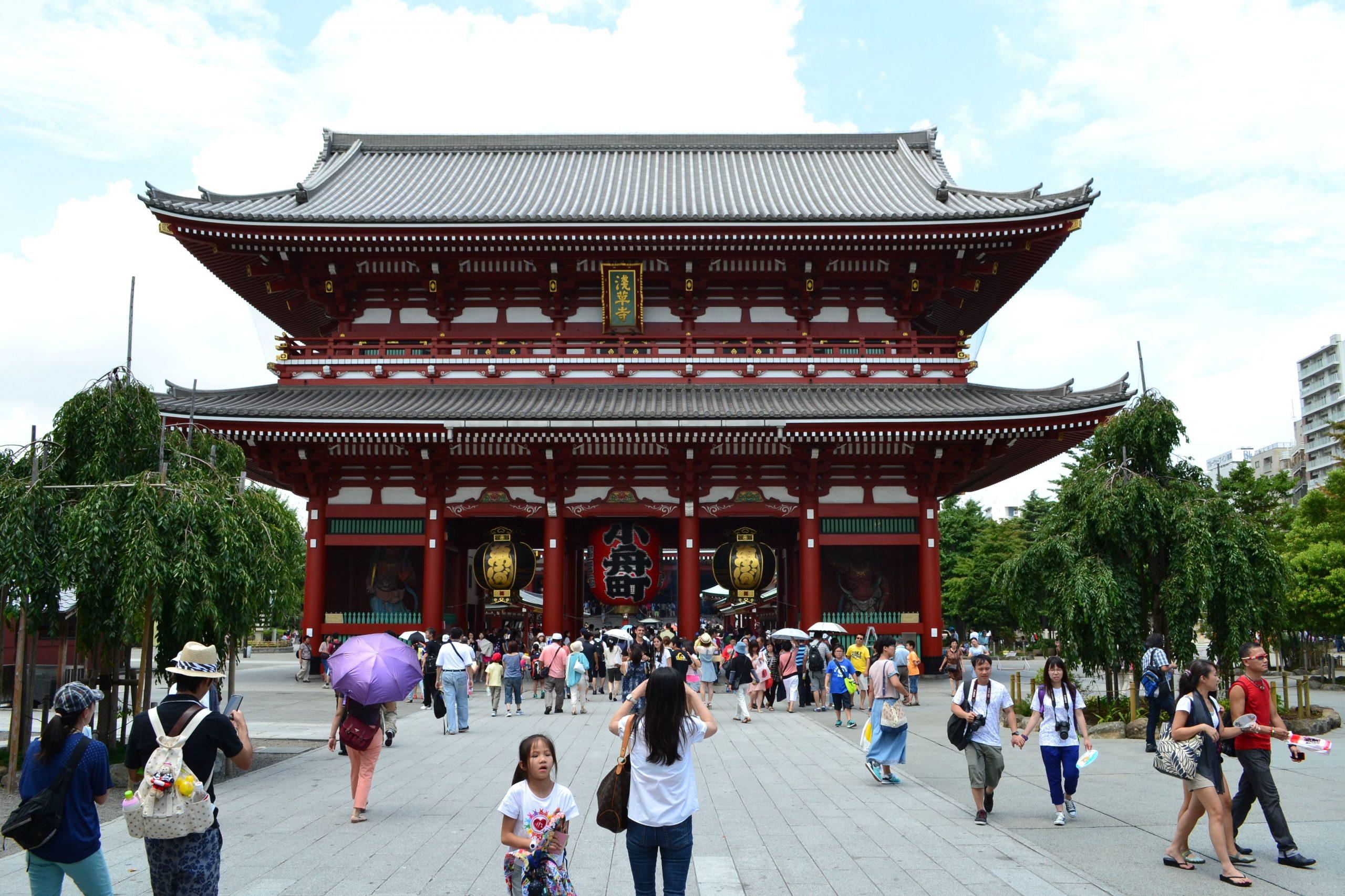 Sensō-ji Tempel in Tokyo