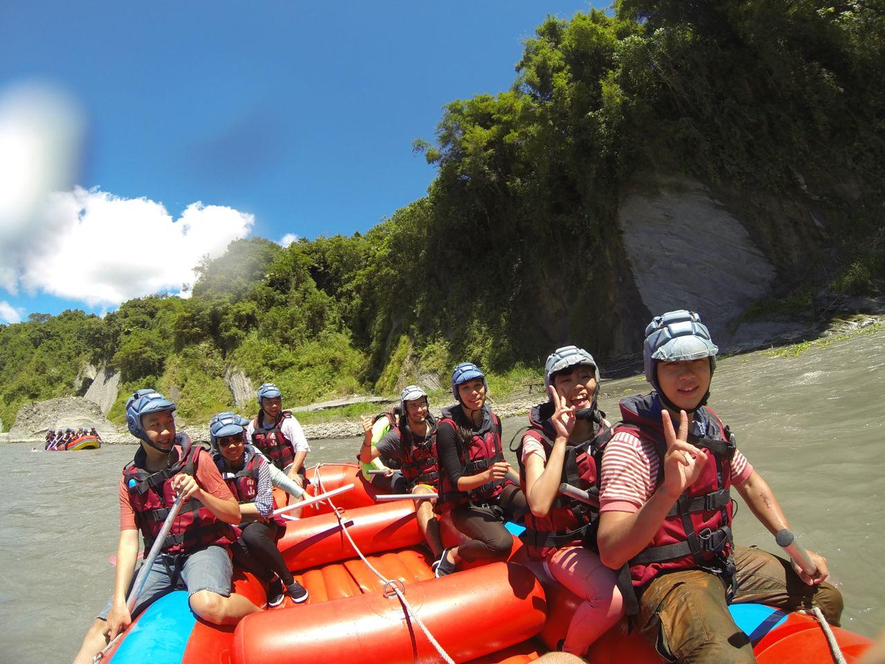 Xiuguluan River Rafting Taiwan