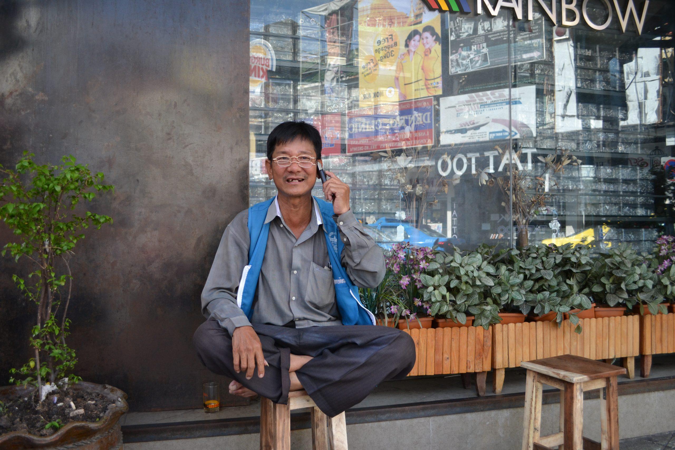Menschen Bangkok