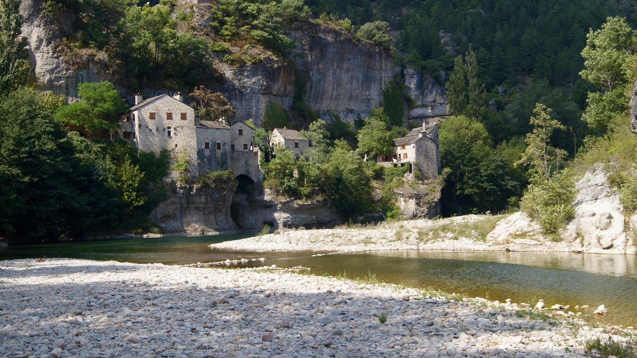 Tarn Fluss Lozere Frankreich