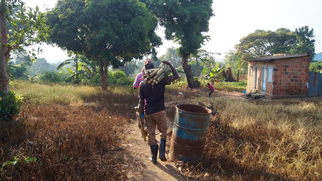 Brunnenbau Uganda