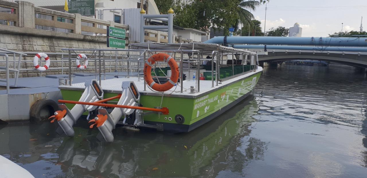 Elektrofähre Bangkok