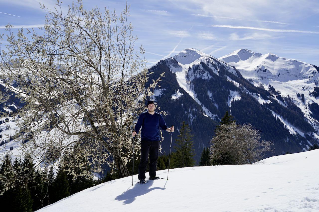 Schneeschuhwandern in Saalbach Hinterglemm