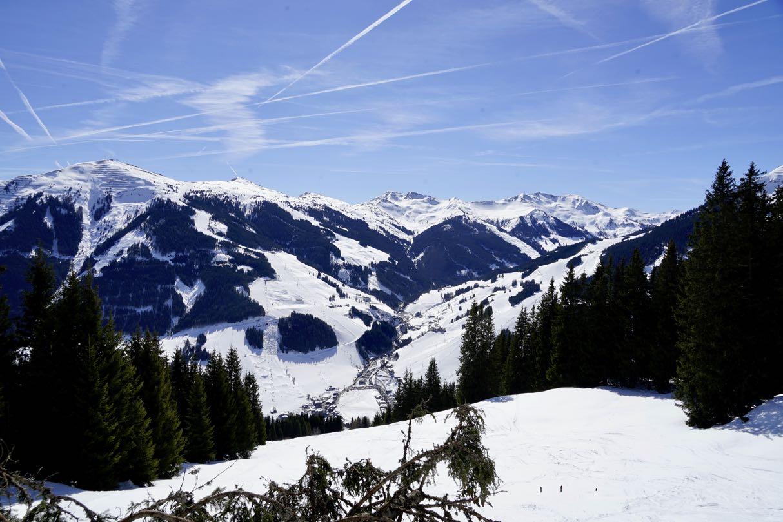 Alpenpanorama bei Saalbach Hinterglemm