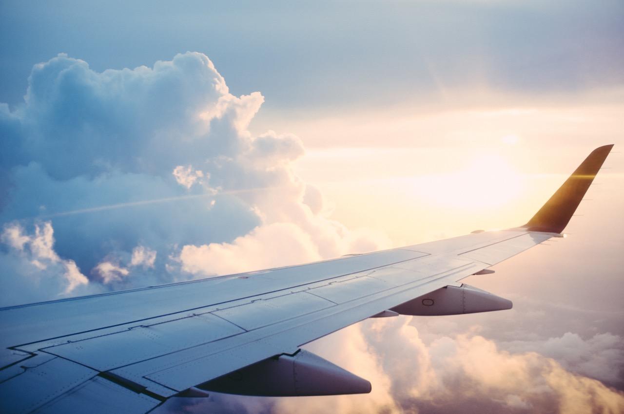 Flugreisen und die Umwelt