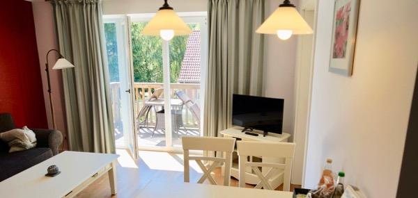Gut Schmerwitz Wohnzimmer Ferienwohnung