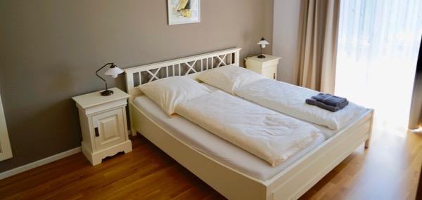 Gut Schmerwitz Ferienwohnung Betten