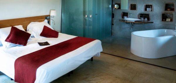 Zimmer Hotel Can Cuch vor Barcelona