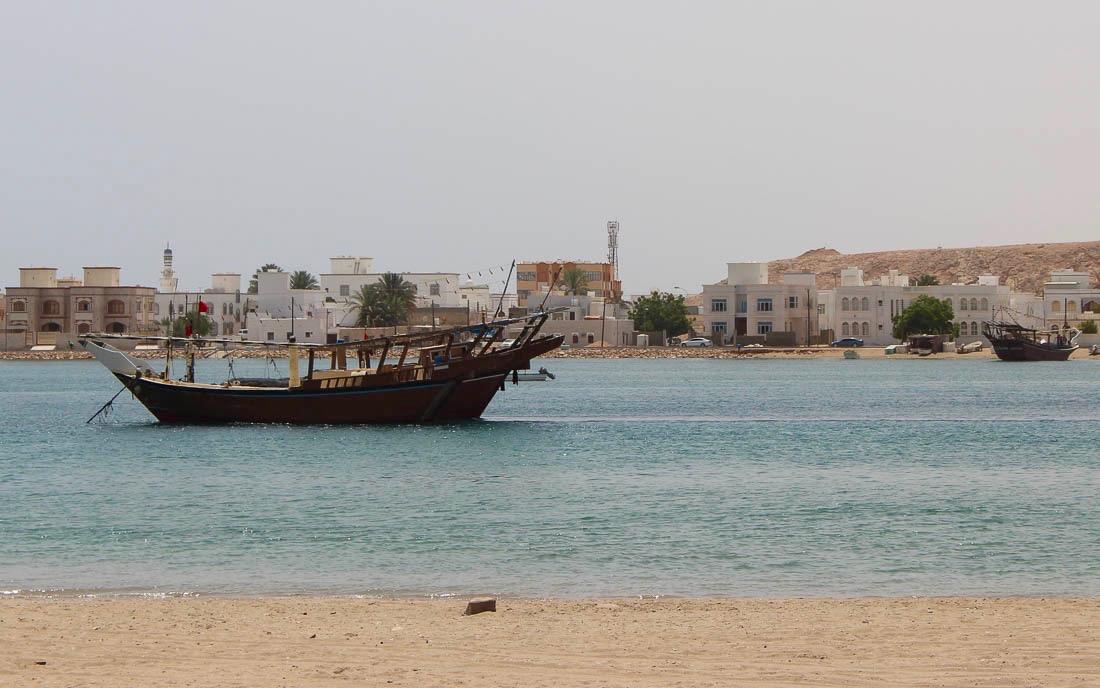 Oman Sur Beach