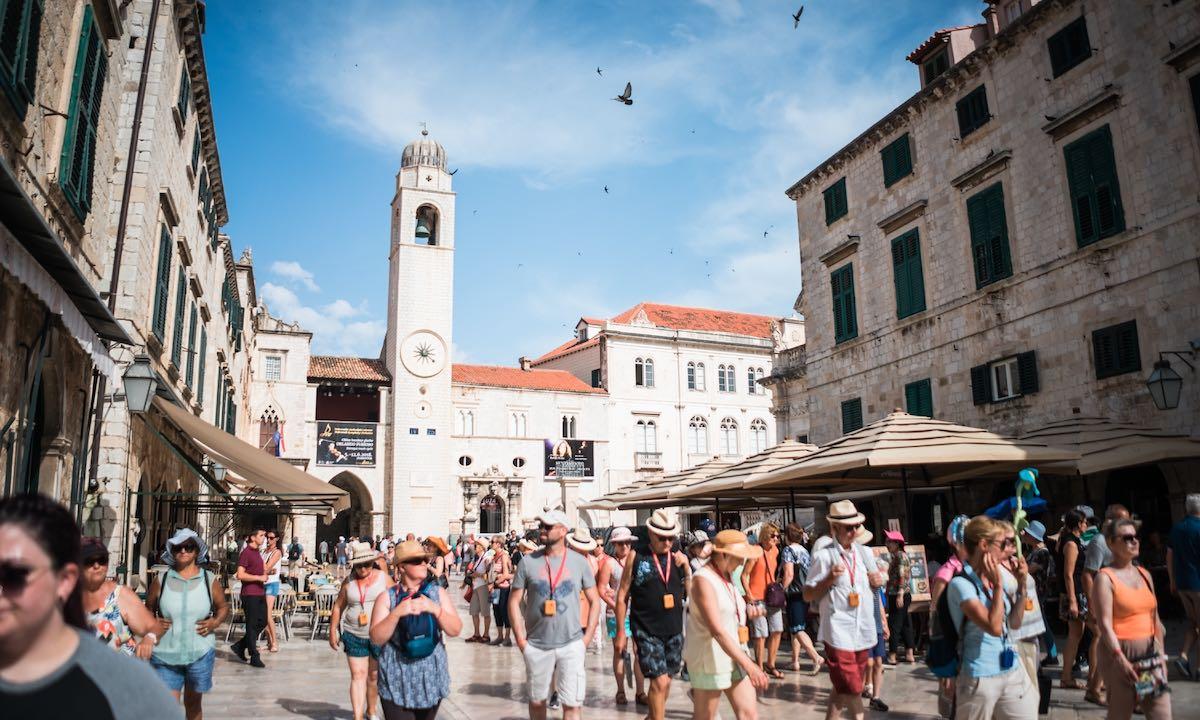 overtourism Dubrovnik