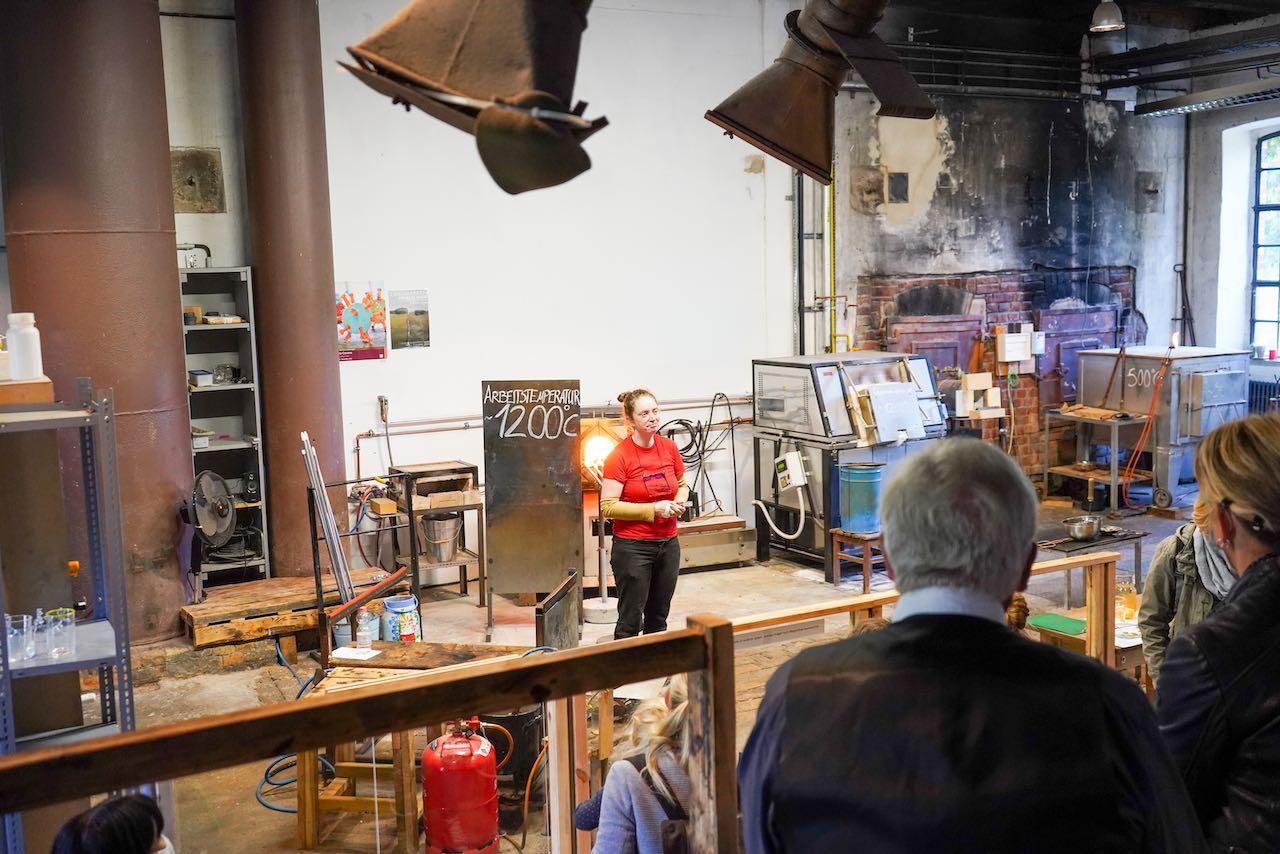 Vorführung Museumsdorf Glashütte