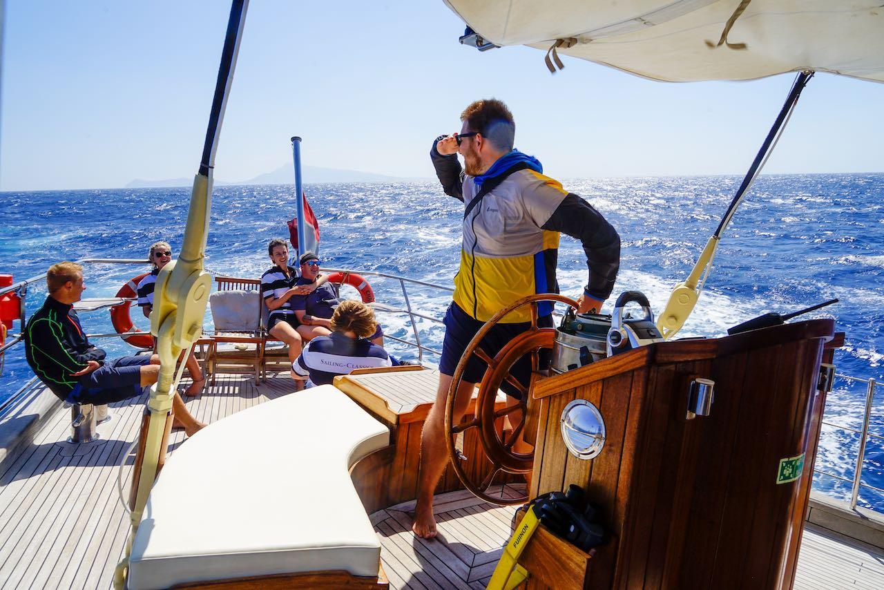 Segeln in Griechenland Steven Hille