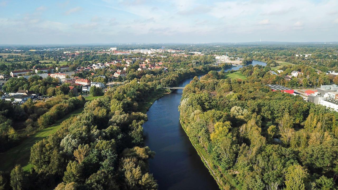 Teltowkanal bei Teltow im Fläming