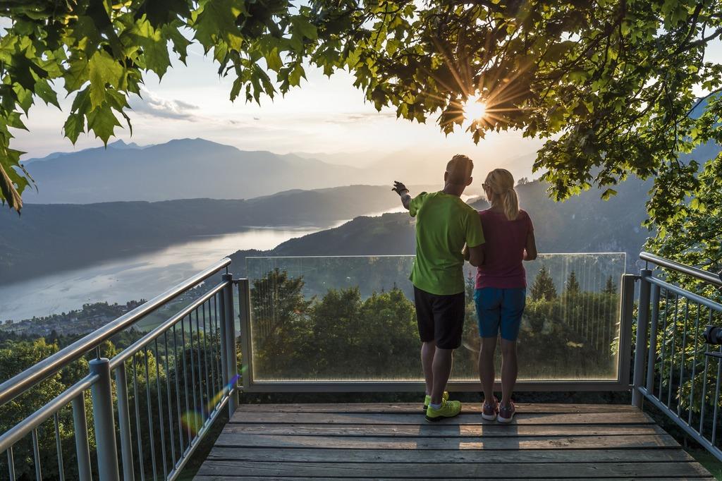 Millstätter See, Sternenbalkon, Zeit zu zweit, Aussicht - © Kärnten Werbung, Uwe Geissler